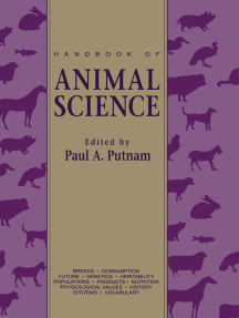 Handbook of Animal Science