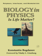 Biology in Physics