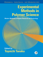 Experimental Methods in Polymer Science