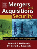 Mergers and Acquisitions Security