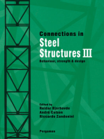 Connections in Steel Structures III: Behaviour, Strength and Design
