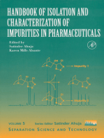 Handbook of Isolation and Characterization of Impurities in Pharmaceuticals