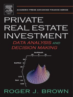 Private Real Estate Investment: Data Analysis and Decision Making