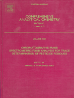 Chromatographic-Mass Spectrometric Food Analysis for Trace Determination of Pesticide Residues