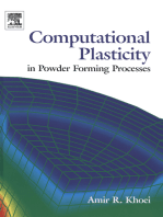 Computational Plasticity in Powder Forming Processes
