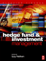 Hedge Fund Investment Management