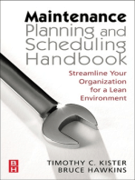 Maintenance Planning and Scheduling
