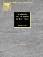 Waveguide Spectroscopy of Thin Films
