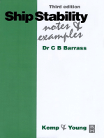 Ship Stability: Notes and Examples