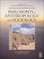 Philosophy of Anthropology and Sociology