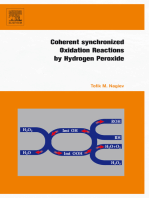 Coherent Synchronized Oxidation Reactions by Hydrogen Peroxide