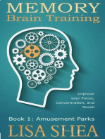 Memory Brain Training - Book 1
