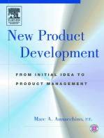 New Product Development: from Initial Idea to Product Management