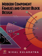 Modern Component Families and Circuit Block Design