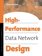 High Performance Data Network Design