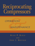 Reciprocating Compressors:: Operation and Maintenance