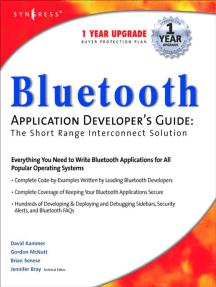Bluetooth Application Developer's Guide
