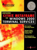 Configuring Citrix Metaframe for Windows 2000 Terminal Services