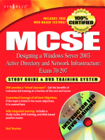 MCSE Designing a Windows Server 2003 Active Directory and Network Infrastructure(Exam 70-297)