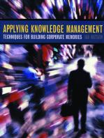Applying Knowledge Management