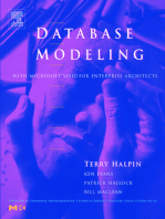 Database Modeling with Microsoft® Visio for Enterprise Architects