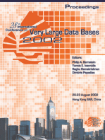 Proceedings 2002 VLDB Conference: 28th International Conference on Very Large Databases (VLDB)