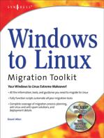 Windows to Linux Migration Toolkita
