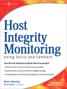 Host Integrity Monitoring Using Osiris and Samhain