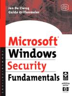 Microsoft Windows Security Fundamentals