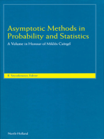 Asymptotic Methods in Probability and Statistics: A Volume in Honour of Miklós Csörgő