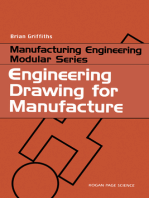 Engineering Drawing for Manufacture