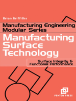 Manufacturing Surface Technology