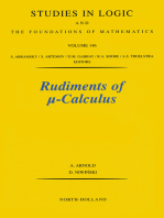 Rudiments of Calculus