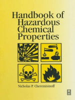 Handbook of Hazardous Chemical Properties