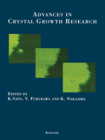 Advances in Crystal Growth Research