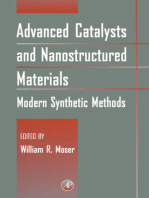 Advanced Catalysts and Nanostructured Materials: Modern Synthetic Methods