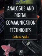 Analogue and Digital Communication Techniques
