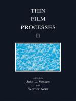 Thin Film Processes II