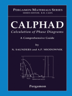 CALPHAD (Calculation of Phase Diagrams)