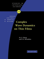 Complex Wave Dynamics on Thin Films