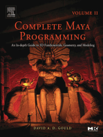 Complete Maya Programming Volume II: An In-depth Guide to 3D Fundamentals, Geometry, and Modeling