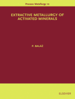 Extractive Metallurgy of Activated Minerals