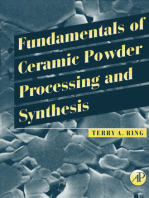 Fundamentals of Ceramic Powder Processing and Synthesis