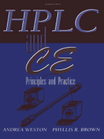 High Performance Liquid Chromatography & Capillary Electrophoresis