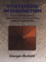 Hysteresis in Magnetism