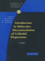 Introduction to Molecular-Microsimulation for Colloidal Dispersions