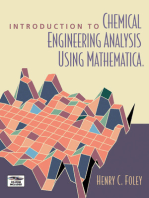 Introduction to Chemical Engineering Analysis Using Mathematica