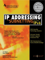 IP Addressing and Subnetting INC IPV6