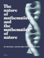 The Nature of Mathematics and the Mathematics of Nature