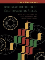 Nonlinear Diffusion of Electromagnetic Fields: With Applications to Eddy Currents and Superconductivity